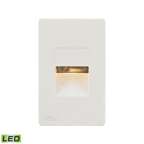 Alico Industries Lighting Alico Lighting Aperture White LED Recessed Step Light WLE1106C30K-10-30