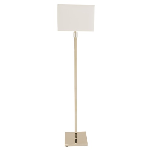House of Troy Lighting House of Troy Somerset Polished Nickel Floor Lamp with Square Shade S900-PN