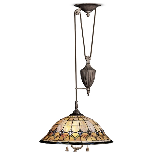 Kichler Lighting Kichler Adjustable Tiffany Pendant 65168
