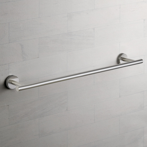 Seattle Hardware Co Seattle Hardware Co Prelude Satin Nickel Towel Bar 24-Inch Center to Center BHW1-24TB-09