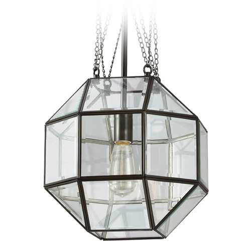 Sea Gull Lighting Sea Gull Lighting Lazlo Heirloom Bronze Pendant Light with Octagon Shade 6634401-782