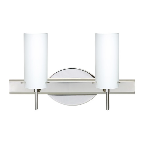Besa Lighting Besa Lighting Copa Chrome Bathroom Light 2SW-440307-CR