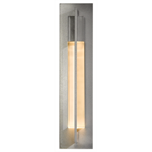 Hubbardton Forge Lighting Hubbardton Forge Lighting Axis Vintage Platinum Sconce 20643082-ZM333
