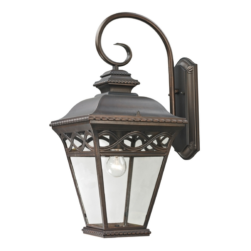 Cornerstone Lighting Cornerstone Lighting Mendham Hazelnut Bronze Outdoor Wall Light 8521EW/70