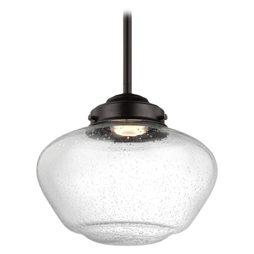 Feiss Lighting Feiss Lighting Alcott Oil Rubbed Bronze LED Mini-Pendant Light P1384ORB-LED