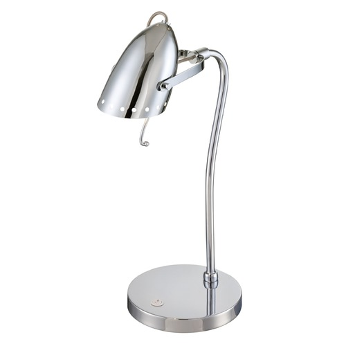 Lite Source Lighting Lite Source Kanoni Chrome Desk Lamp LS-22800
