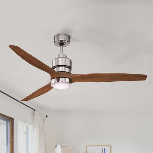 Craftmade Lighting Craftmade Lighting Sonnet Chrome Ceiling Fan with Light K11256