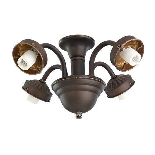 Monte Carlo Fans Light Kit in Roman Bronze Finish MC183RB-L