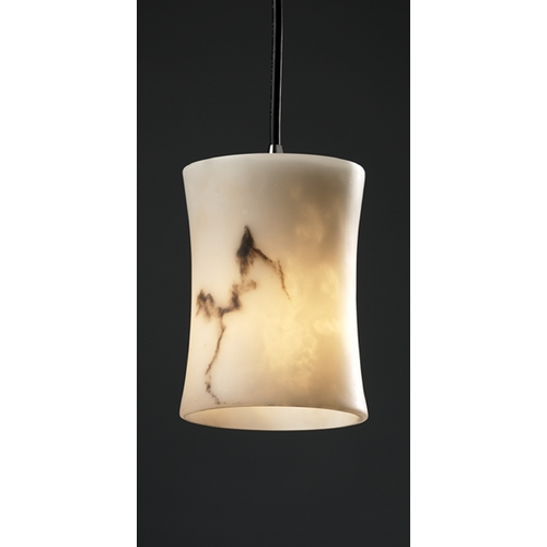 Justice Design Group Justice Design Group Lumenaria Collection Mini-Pendant Light FAL-8815-60-NCKL