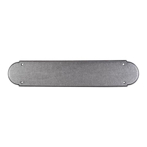 Top Knobs Hardware Push Plate in Pewter Finish M908