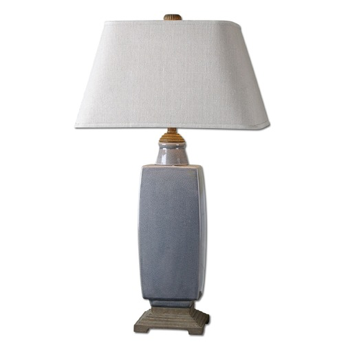 Uttermost Lighting Uttermost Tilton Light Gray Ceramic Table Lamp 26943