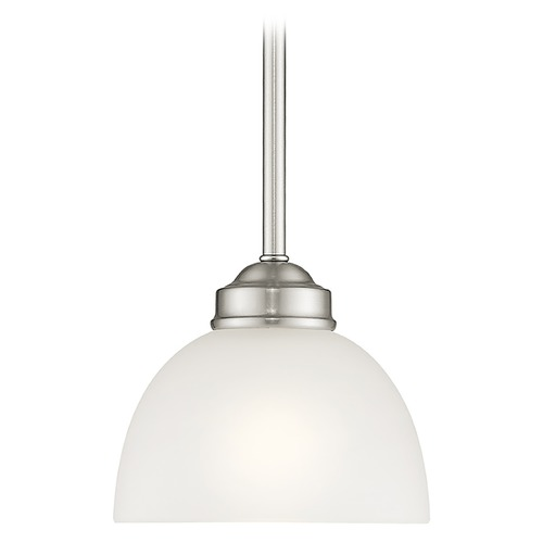 Livex Lighting Livex Lighting Somerset Brushed Nickel Mini-Pendant Light 4210-91