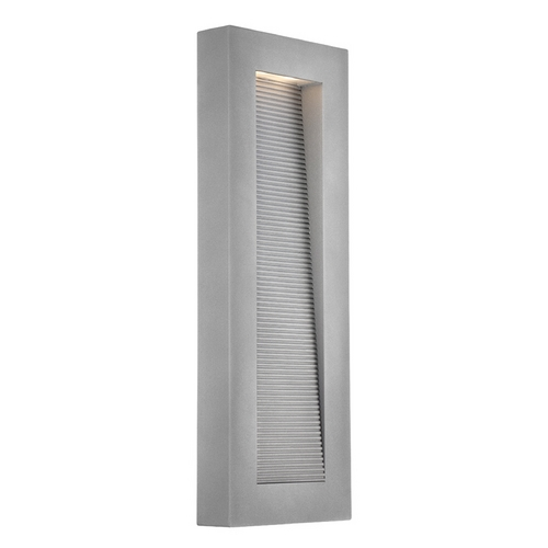 Modern Forms by WAC Lighting Modern Forms Urban Graphite LED Outdoor Wall Light WS-W1122-GH