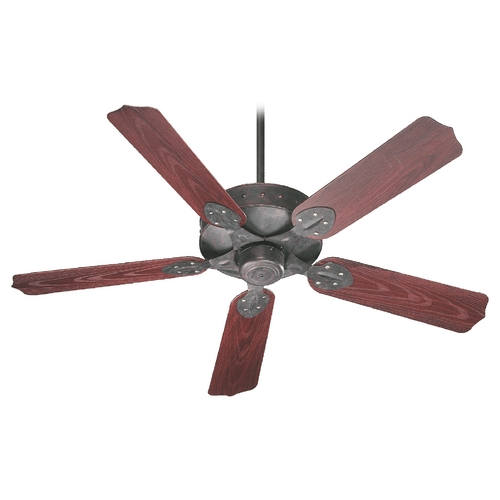 Quorum Lighting Quorum Lighting Hudson Toasted Sienna Ceiling Fan Without Light 137525-44
