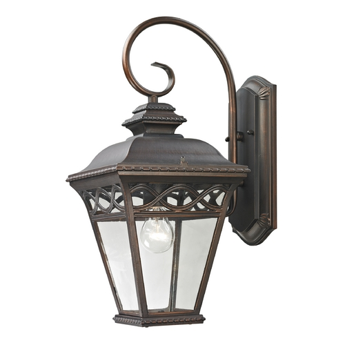 Cornerstone Lighting Cornerstone Lighting Mendham Hazelnut Bronze Outdoor Wall Light 8511EW/70