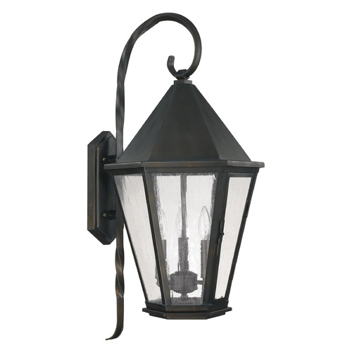 Capital Lighting Capital Lighting Spencer Old Bronze Outdoor Wall Light 9623OB
