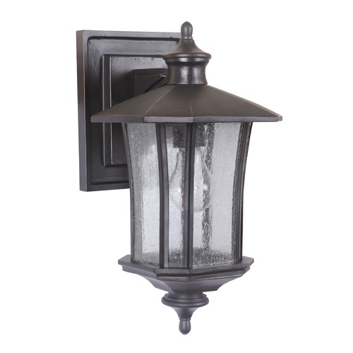 Craftmade Lighting Craftmade Lighting Chateau Oiled Bronze Gilded Outdoor Wall Light Z7704-88