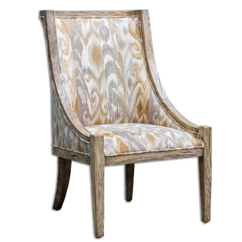 Uttermost Lighting Uttermost Alabaster Driftwood Accent Chair 23634