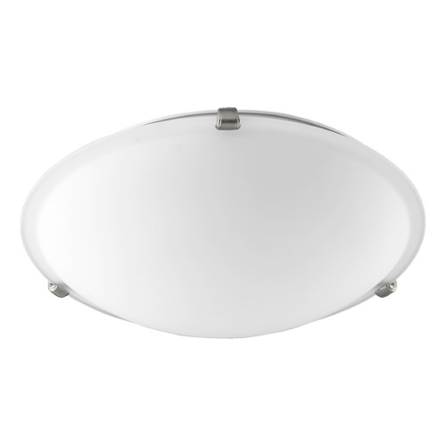 Quorum Lighting Quorum Lighting Satin Nickel Flushmount Light 3000-16165