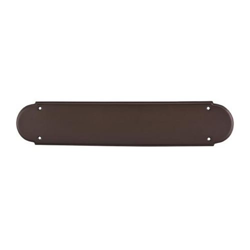 Top Knobs Hardware Push Plate in Oil Rubbed Bronze Finish M909