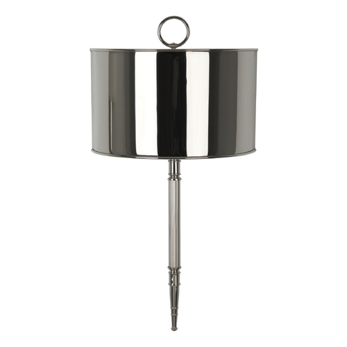 Robert Abbey Lighting Mid-Century Modern Wall Lamp Polished Nickel Porter by Robert Abbey S1909