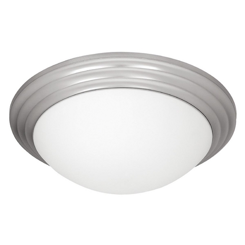 Access Lighting Access Lighting Strata Brushed Steel Flushmount Light C20650BSOPLEN1113BS