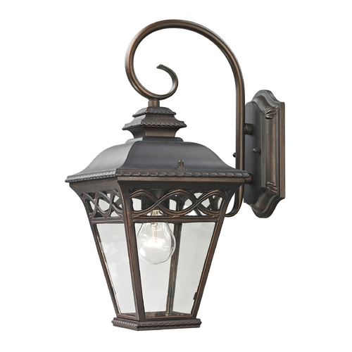 Cornerstone Lighting Cornerstone Lighting Mendham Hazelnut Bronze Outdoor Wall Light 8501EW/70