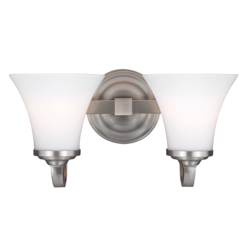 Feiss Lighting Feiss Lighting Hamlet Satin Nickel Bathroom Light VS22502SN