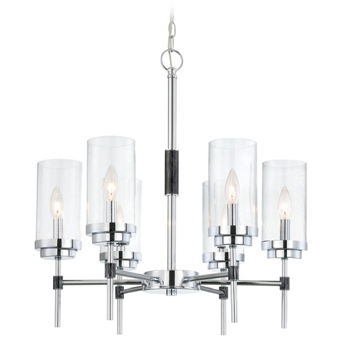 Lite Source Lighting Lite Source Quintana Chrome Chandelier LS-19816