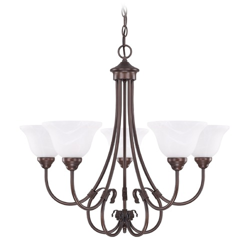 HomePlace by Capital Lighting HomePlace Lighting Homeplace/hometown Bronze Chandelier 3226BZ-220
