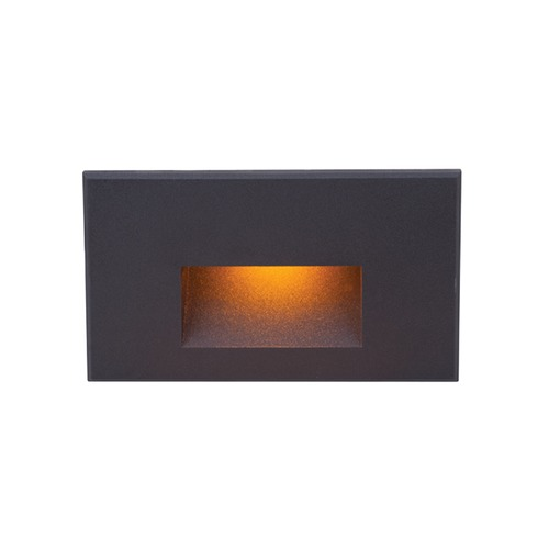 WAC Lighting LED 12V LEDme Horizontal Step and Wall Light 4011-AMBK