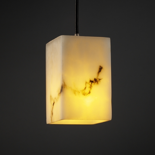 Justice Design Group Justice Design Group Lumenaria Collection Mini-Pendant Light FAL-8816-15-NCKL