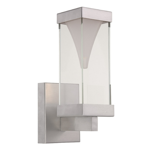 Modern Forms by WAC Lighting Modern Forms Vortex Brushed Aluminum LED Outdoor Wall Light WS-W2112-AL