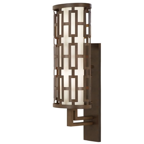 Fine Art Lamps Fine Art Lamps River Oaks Dark Bronze Outdoor Wall Light 839481ST