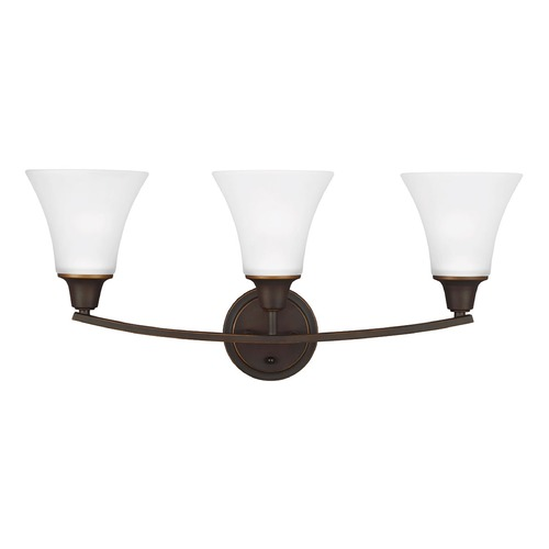 Sea Gull Lighting Sea Gull Lighting Metcalf Autumn Bronze Bathroom Light 4413203-715