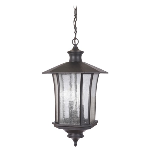 Craftmade Lighting Craftmade Lighting Chateau Oiled Bronze Gilded Outdoor Hanging Light Z7721-88