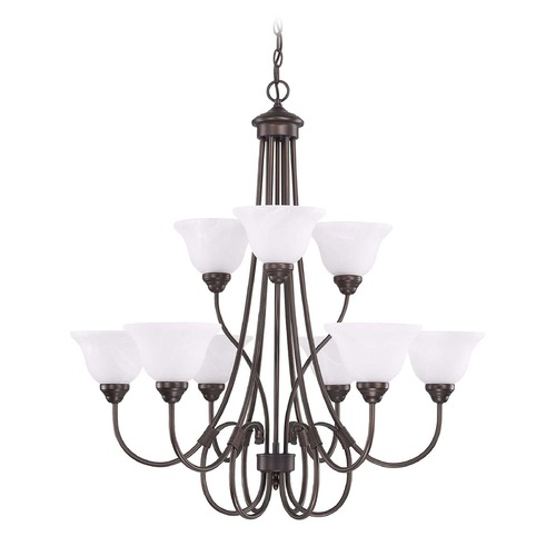 HomePlace by Capital Lighting HomePlace Lighting Homeplace Bronze Chandelier 3229BZ-220