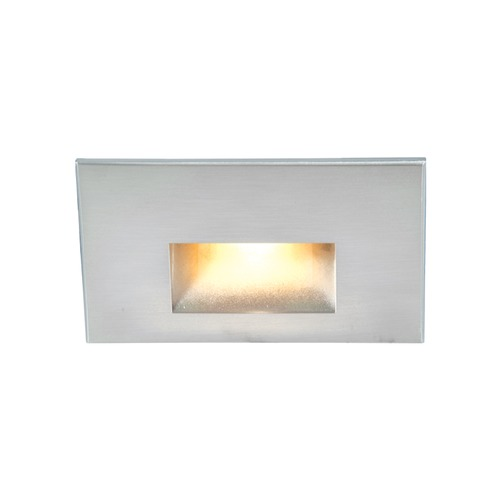 WAC Lighting LED 12V LEDme Horizontal Step and Wall Light 4011-AMSS