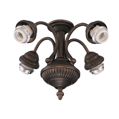 Monte Carlo Fans Light Kit in Roman Bronze Finish MC73RB-L