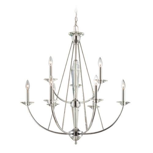 Designers Fountain Lighting Chandelier in Chrome Finish 84289-CH