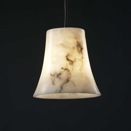 Justice Design Group Justice Design Group Lumenaria Collection Mini-Pendant Light FAL-8816-20-DBRZ