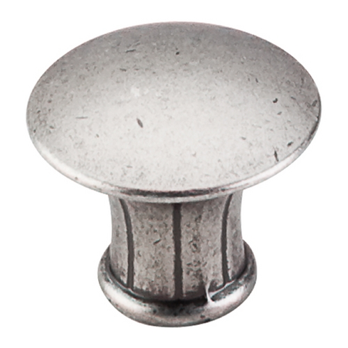 Top Knobs Hardware Cabinet Knob in Pewter Antique Finish M911