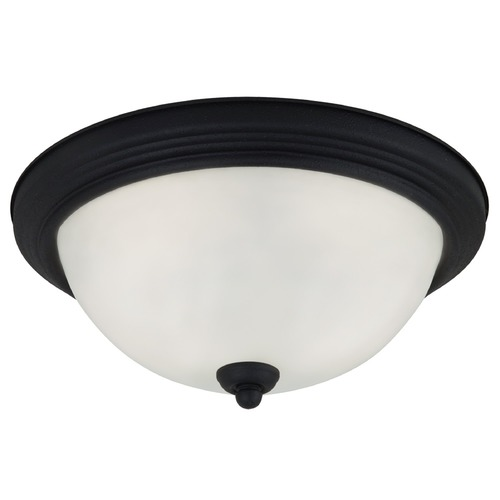 Sea Gull Lighting Sea Gull Lighting Ceiling Flush Mount Blacksmith Flushmount Light 77063-839