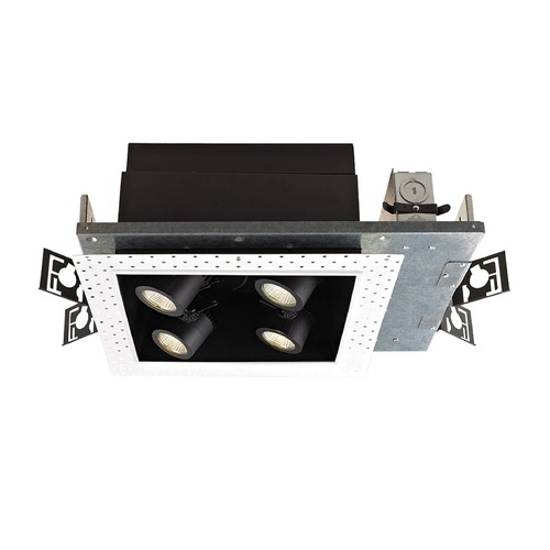 WAC Lighting WAC Lighting Precision Multiples Black LED Recessed Can Light MT-4LD226N-S27-BK