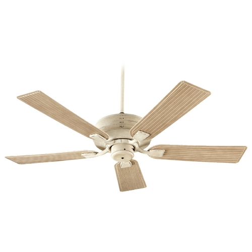 Quorum Lighting Quorum Lighting Marsden Persian White Ceiling Fan Without Light 139525-70