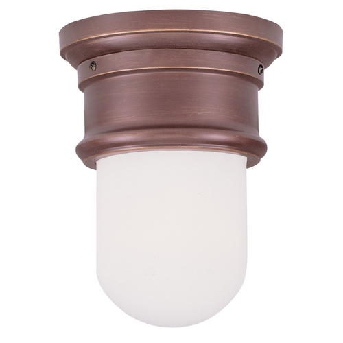 Livex Lighting Livex Lighting Astor Vintage Bronze Flushmount Light 7340-70