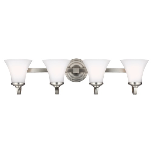 Feiss Lighting Feiss Lighting Hamlet Satin Nickel Bathroom Light VS22504SN