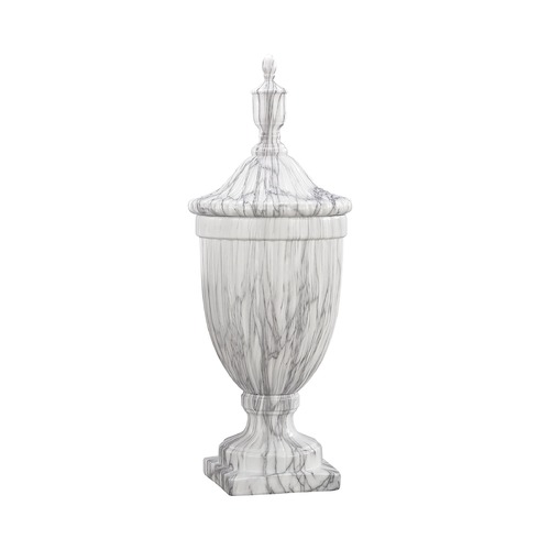 Sterling Lighting Sterling Neuchatel Faux Marble Ceramic Urn - Large 9167-051