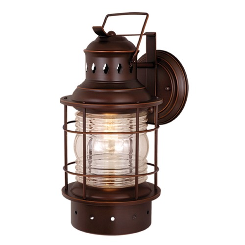 Vaxcel Lighting Hyannis Burnished Bronze Outdoor Wall Light by Vaxcel Lighting OW37081BBZ