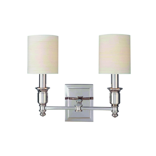 Hudson Valley Lighting Sconce Wall Light with White Shades in Old Bronze Finish 7502-OB